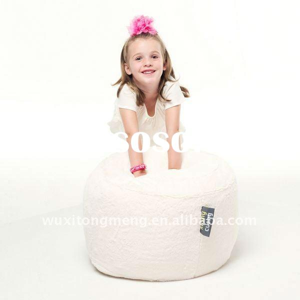 Luxury fur ottoman/stool,bean bag/sack accessory-Kushy cushy