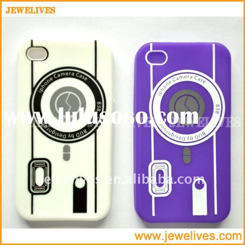 2011 Newly Silicon Cover case for iphone 4 with high quality