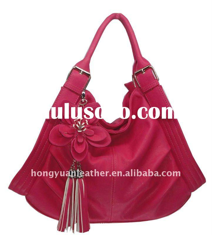 2012 flower handbag for women