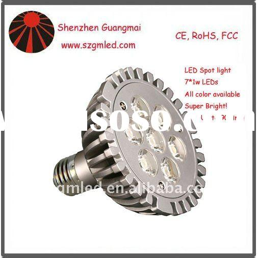 7*1w E27 led spot light