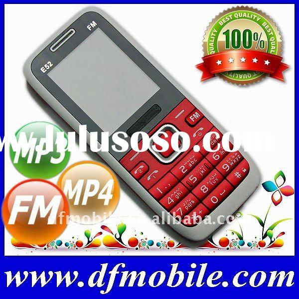 China Dual Sim No Camera Ultra Cheap Mobile Phone E52