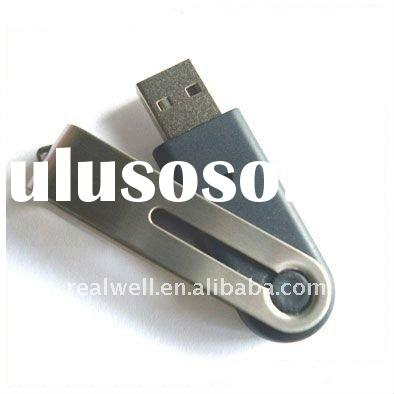 Promotional gift  1,2,4,8,16,32 GB metal swivel USB flash disk