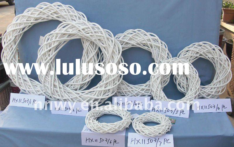 high quality weaving rattan wicker garland