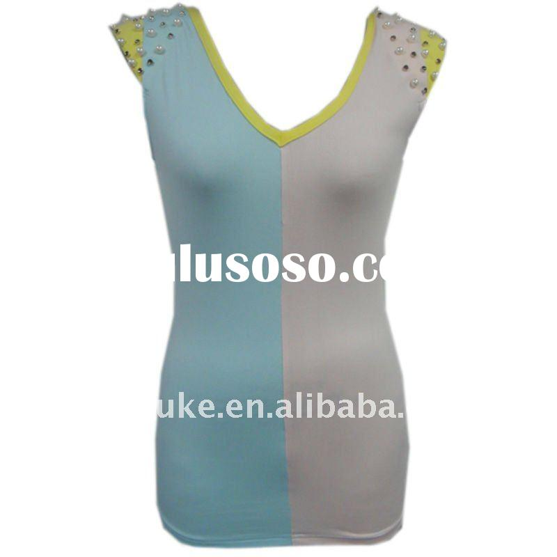 tank top   ladies tops latest design  Lady Top F-1706
