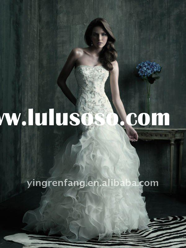 2011 hot sale new designer wedding dresses