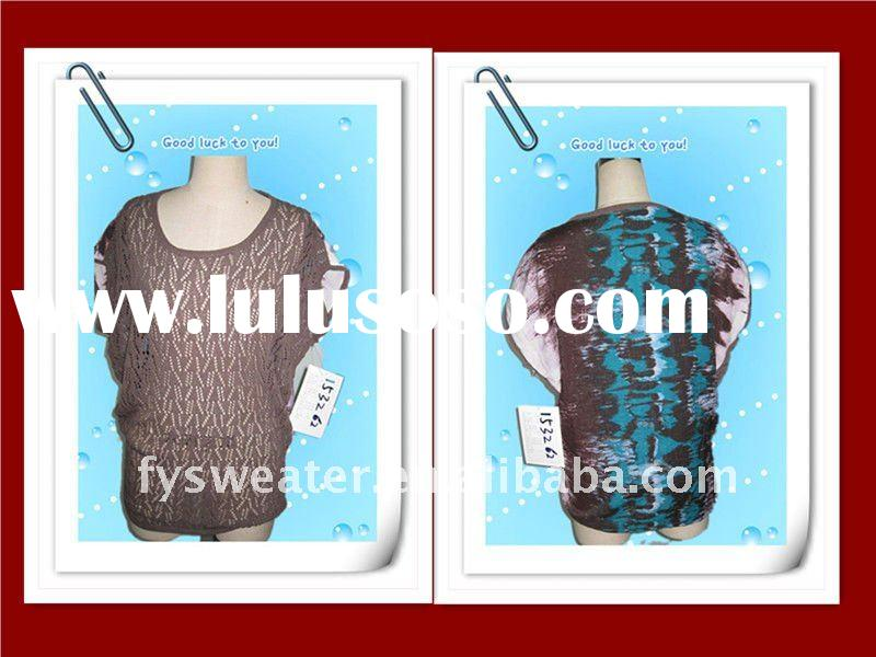 2012 Spring fancy pullover ladies sweater