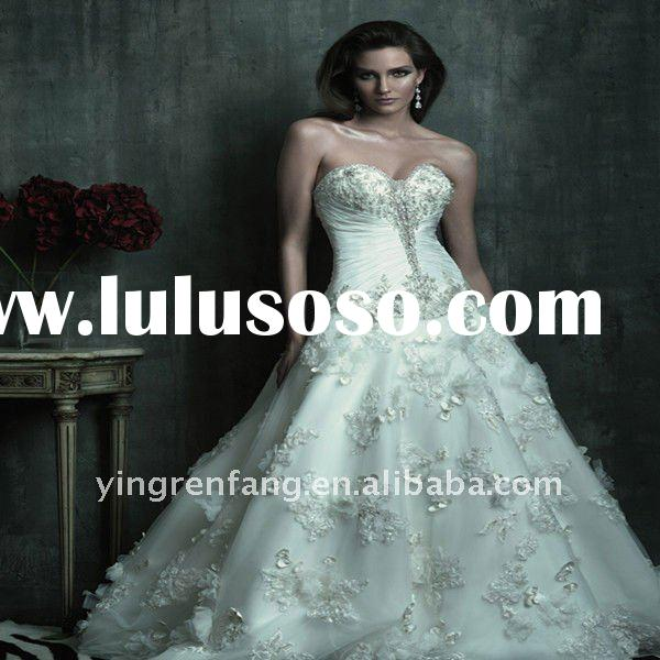 2012 hot sale new designer wedding dresses