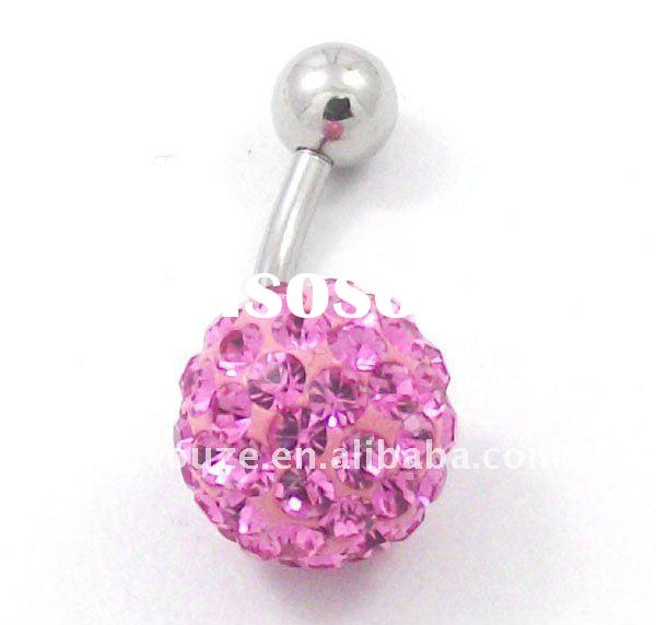 316L Surgical Stainless Steel Belly Button Rings