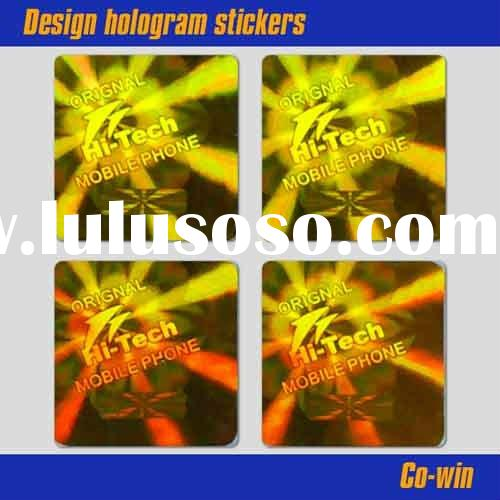 Design hologram stickers
