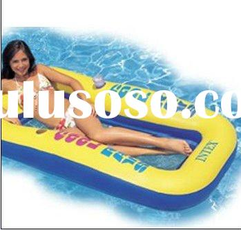 Inflatable classic floating mat