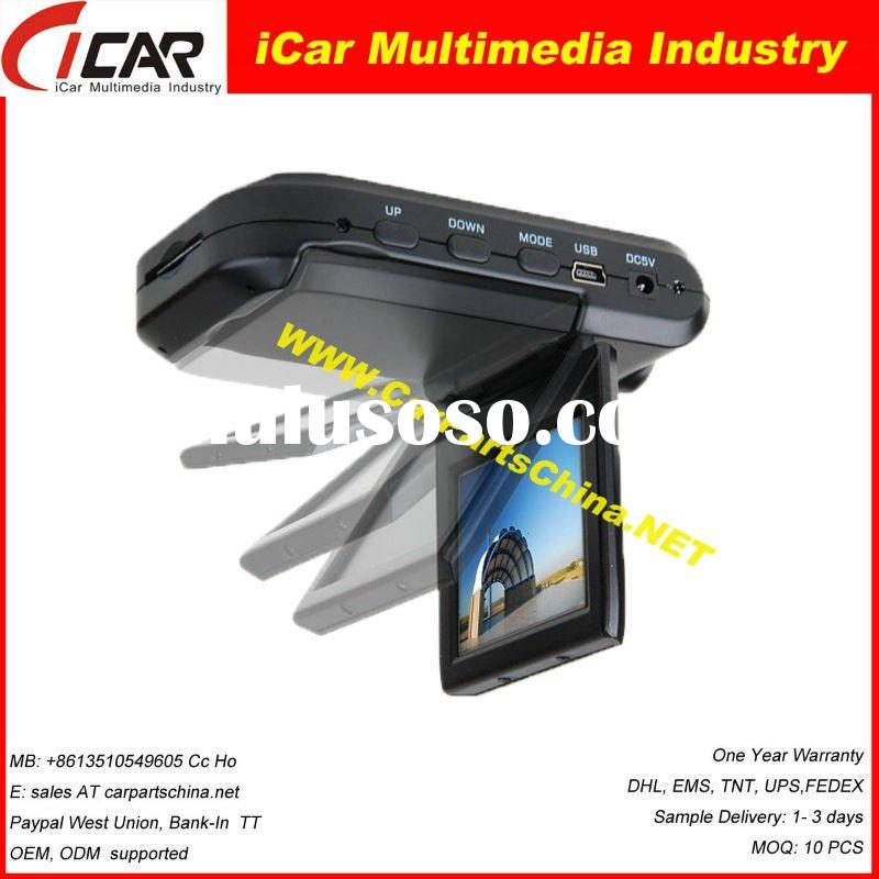 "Most Popular High Quality 2.5"" Car DVR Recorder Car Black BOX 3003"