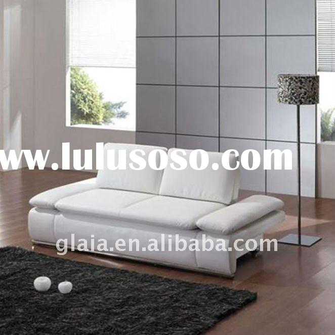 Multifunctional leather sofa bed