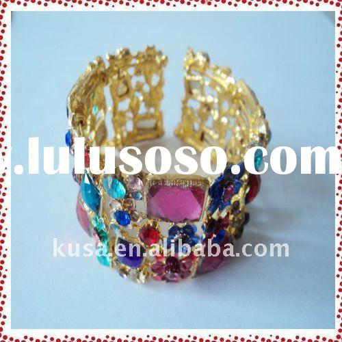 2011 fashion alloy hot sale unique design jewelry bangels&bracelets