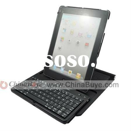 360 degree Rotating Bluetooth keyboard Case Stand For iPad