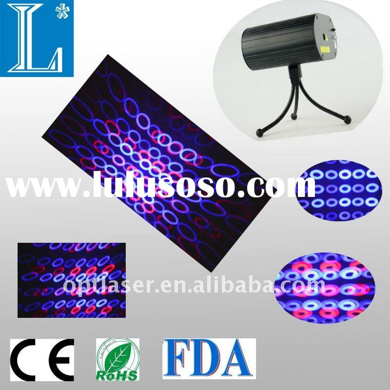 445 nm 100~200 mW blue laser with 650nm 100 mW blue laser lighting