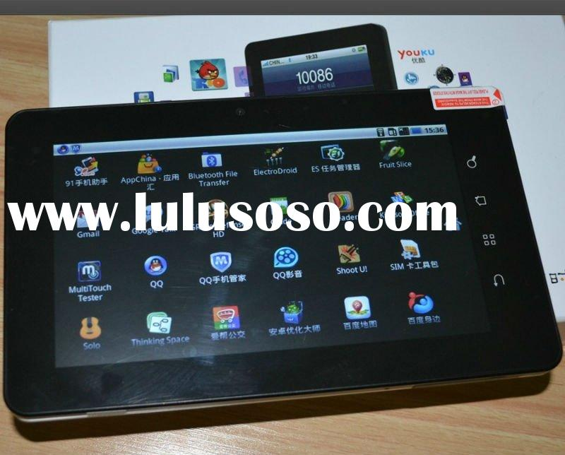 Exported 160K pcs 7 inch MID MSM722-T Qualcomm with internal 3G(WCDMA) bluetooth wifi gps navigation