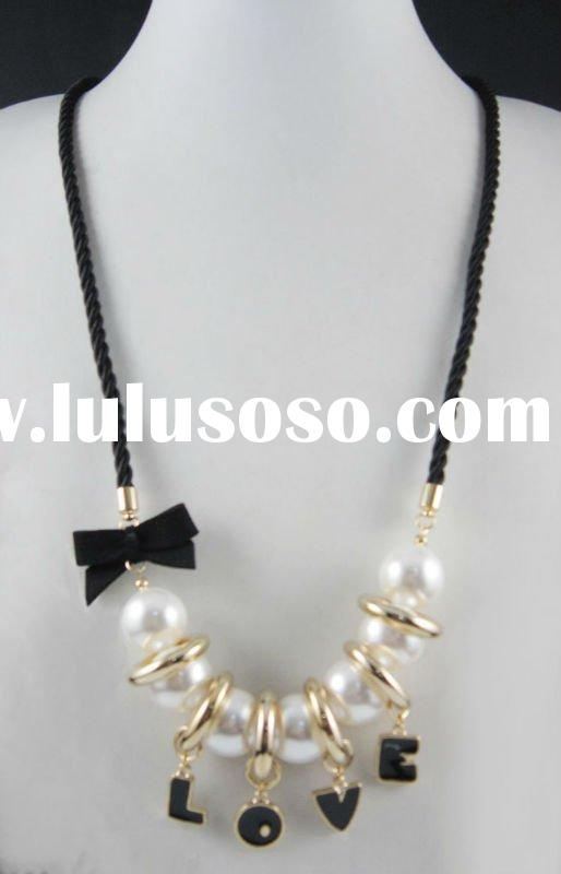 LD-NK2688 Fashion Charm Long Alloy Necklace For Promotion