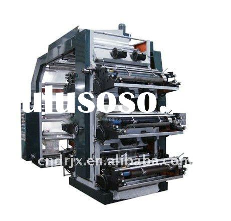 Ruian High Speed 4 Colors Flexo Printing Machine