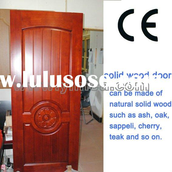 YIMCA natural solid wood painting door of classical style