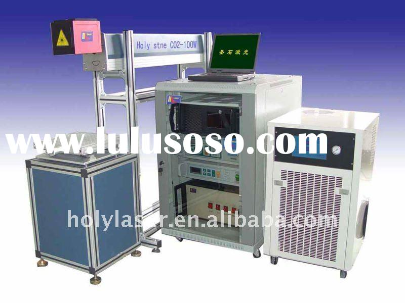 HS CO2-100W (water cooling)wood/leather laser marking machine