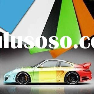 Wholesale!!1.52X30M,Air free bubble Car body Coloration Film/Sheet self-adhesive 11colors change vin
