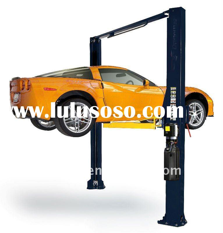 two post car lift 9000lbs dual cylinders hydraulic lift with CE certification
