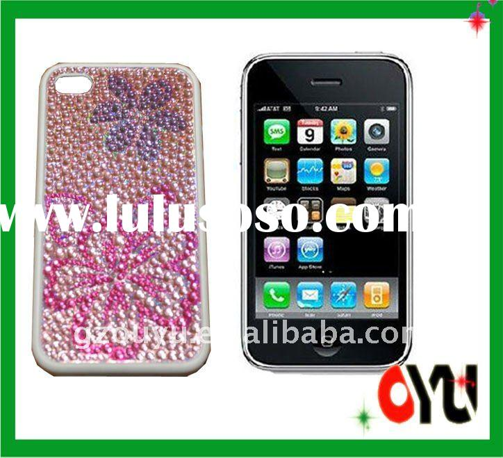 various design TPU+PC case for iphone 4