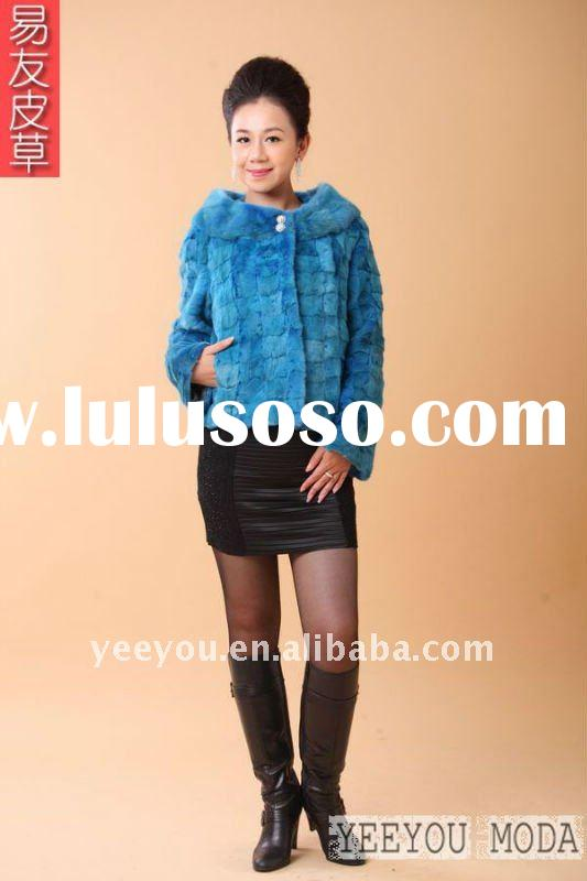 2011  newest mink fur coat 911  women/lady