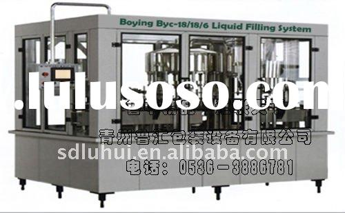 3 in one Red Wine Washing, Filling, Capping Equipment