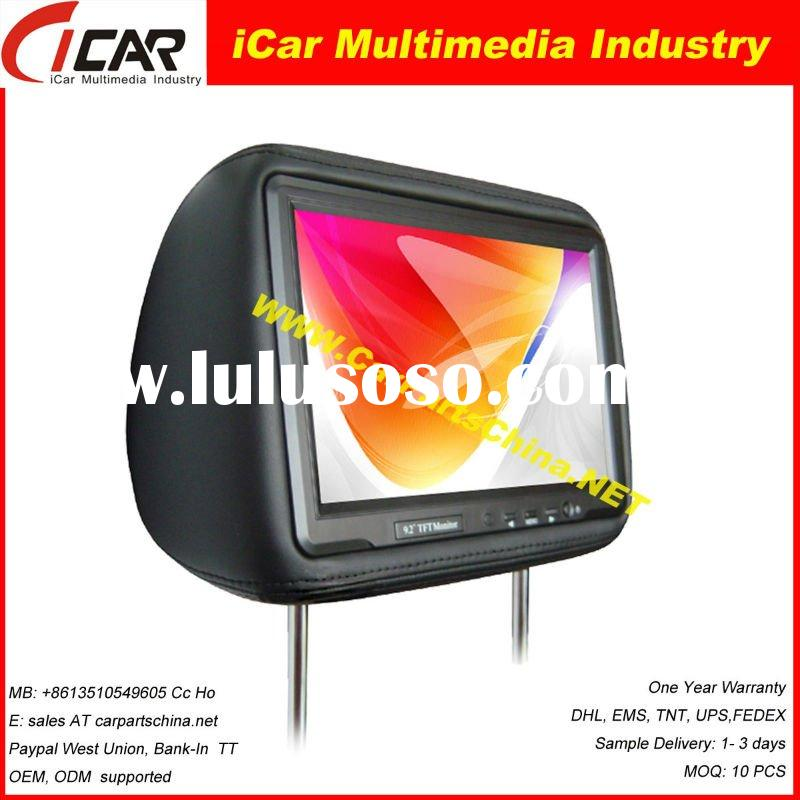 "Best Quality 9"" Headrest Car Monitor  2009"