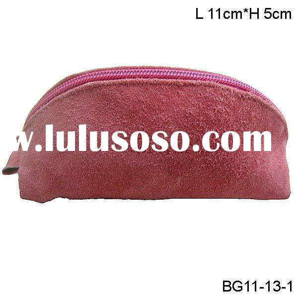 China promotion Cheap Genuine leather coin purse