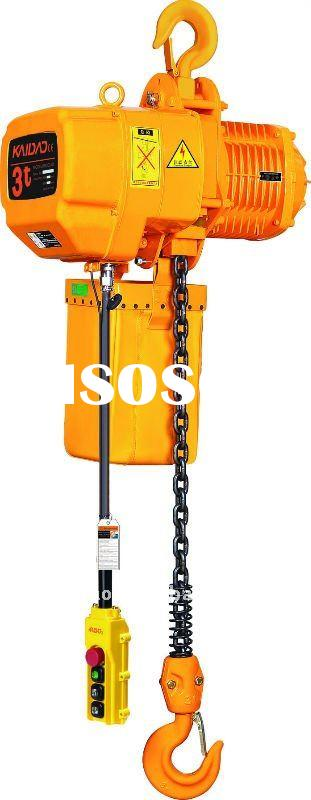 ELK 3ton electric chain hoist with hook