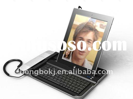 New arrival for Ipad 2 bluetooth keyboard with telephone