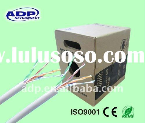 UTP CAT5 CU lan cable produce by professional manufacture