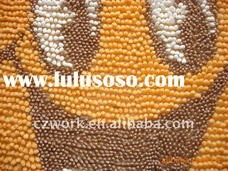 polyester jacquard Chenille Fabric for Carpet,Cushion