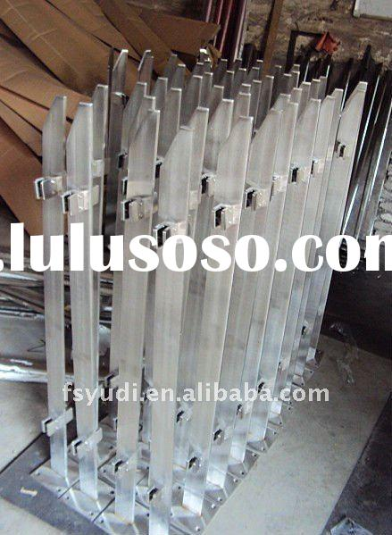 stainless steel handrail and baluster