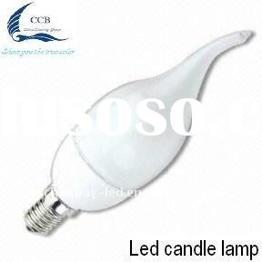 Energy saving high quality 3W  e14 led candle light
