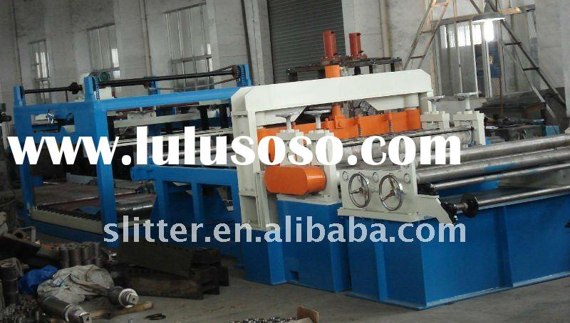 Full automatic high speed straightening and cut to length line