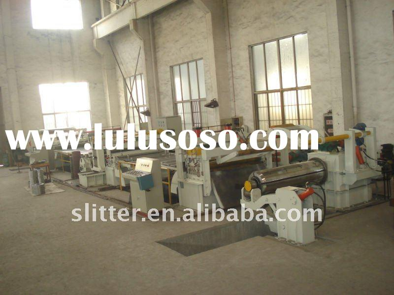 High speed automatic coil strrips slitting line ZJX-3X1250-1600