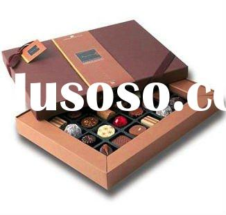 Hot selling cheap paper chocolate packaging box