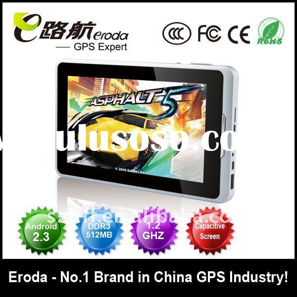MID tablet pc+Andriod2.3+1.2GHZ 512MB+3G+WIFI+5point touch capacitance screen=HR-1876