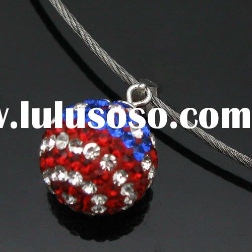 New fashion crystal ball pendant jewelry