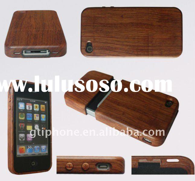 for iPhone 4 Wood Case