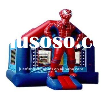 inflatable spiderman bouncer