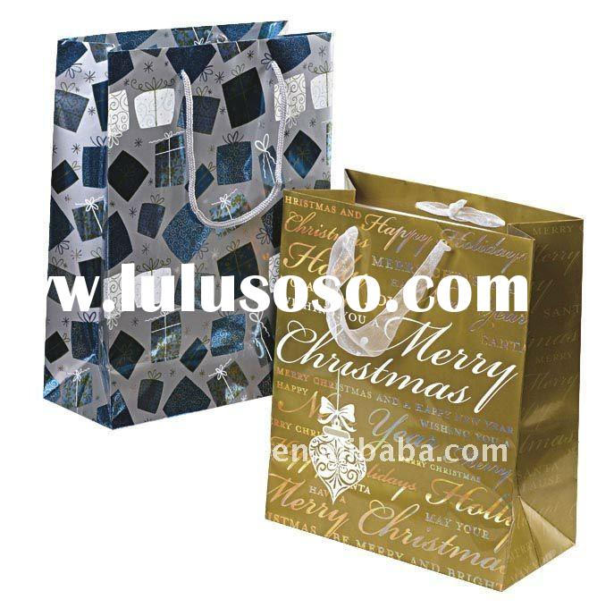 paper shopping  bags for package clothing