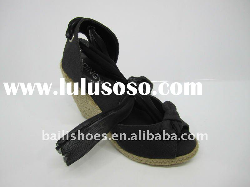 2011 The hot-sale wedge-soled shoes J22-0533-1 black