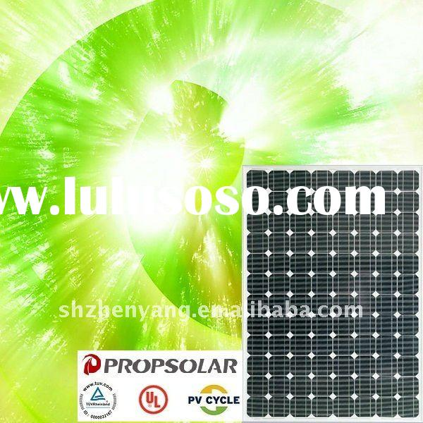 255W mono pv solar panel module with 100% TUV standard