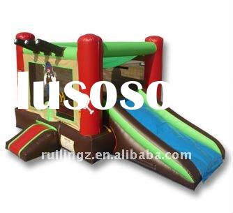 2 in 1 Inflatable Skeleton Combo/ bounce House and slide