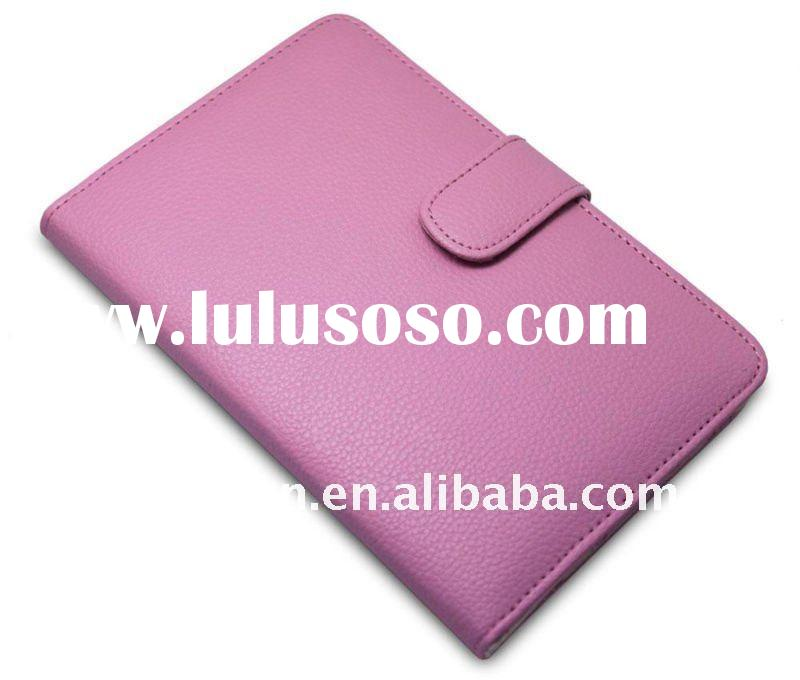 """6"""" PU Leather Case Cover for Ereader  (light purple)"""