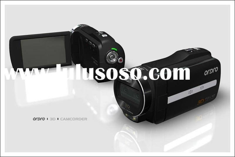 Full HD Video Camera, 3D & 2D camcorder,Double Lens